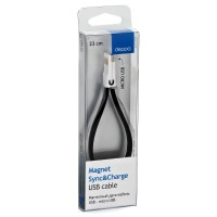 "Кабель Deppa Magnet Apple 8-pin 72170 ""black"" flat cable"