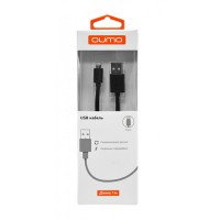 "Кабель Qumo 20527 Apple 8-pin PVC ""Black"""