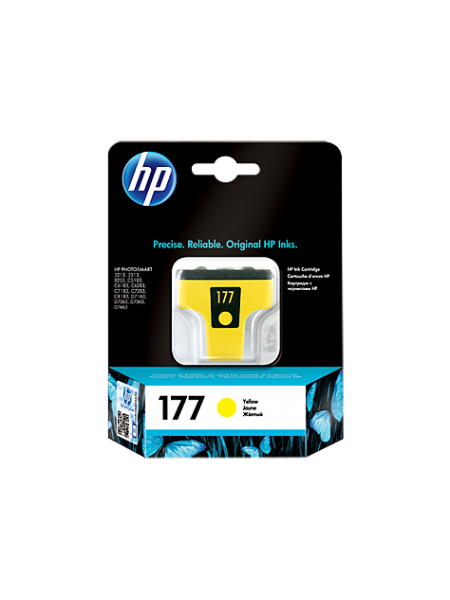 Картридж HP №177 C8773HE Yellow